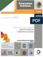 Diagnóstico y tratamiento de la insuficiencia cardíaca aguda