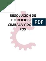 Ejercicios Resueltos de Cimbala y Fox