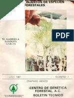Manual de Injertos de Especies Forestales