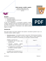 Practica 6 Velocidad Consatante, Variable y Angular
