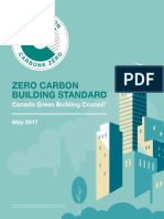 Zero Carbon Building Standards