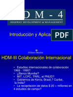 HDM-4 Introduction and Applications