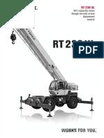 Ficha Técnica de Grúa Terex 30 ton