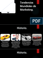 Tendencias Mundiales de Marketing. Tesla. (1)