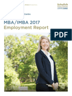 2017 Schulich MBA Salary Report