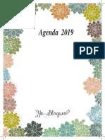 Agenda 2019 Suculentas s