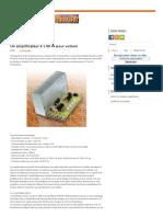 Un Amplificateur 4 x 55 W Pour Voiture _ Schema Electronique Net