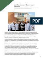 21-01-2019 La investigación científica forense en Sonora es una realidad Claudia Pavlovich - Canal Sonora