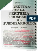 Arceo- Argentina Periferia Prospera