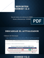 002 Sismed23 Reportes
