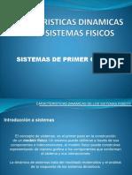 Caracteristicas Dinamicas de Los Sistemas Fisicos