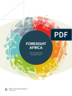 Foresight Africa 2019