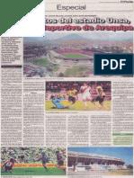Los secretos del Estadio UNSA, el coloso deportivo de Arequipa