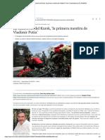 La Catástrofe Del Kursk, 'La Primera Me...Imir Putin' - Internacional - EL MUNDO Artículo