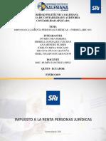 IMPUESTO A LA RENTA PERSONAS JURÍDICAS.pptx