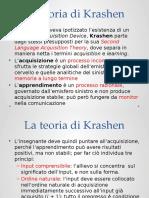 7 La Teoria Di Krashen e i Metodi Clinici