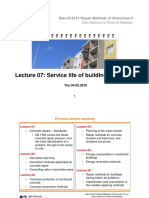 Service Life of Structures