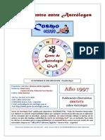 Gente de Astrologia. CosmoVision Encuentros. Num. 01. 1997