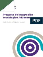 Proyecto de Integracion Tecnologica Aduanera