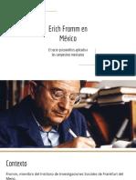 Erich Fromm en México