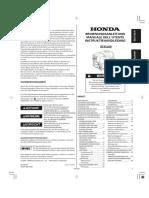 Honda Gx440iu Deutsch(34z3s605)