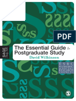 David Wilkinson-The Essential Guide to Postgraduate Study (Sage Study Skills Series) (2005).pdf
