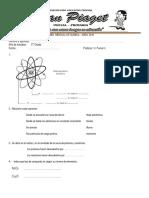 Examen Mensual de Química 5