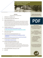 PRAB Agenda Jan 2019. Scribd