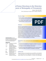 2.Detection and Treatment of Retinopathy of Prematurity