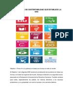Tarea de Los 17 Puntos de La ONU