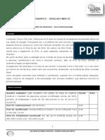 Gabarito Simulado Web 05 - Tributario()