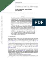 Deep Neural Networks as Gaussian Processes
