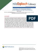 Artigo #2 - MS2 - The Postsynaptic Density in Glutamatergic Synapses Mediates Learning - Kennedy Et Al 2018