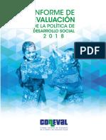 Informe de desarrollo social  2018 coneval