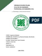 Informe 2 Correccion de Coriolis Hidraulica