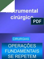 Instrumental Cirúrgico - HU - USP