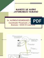 Suero Antirrabico- Puno-set 2006