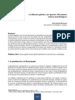 La Historia Global y Sus Aportes. Discus