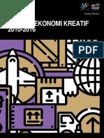 Ekspor Ekonomi Kreatif 2010-2016