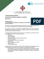 Tutoria - Medicina Interna