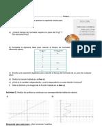 Evaluación de Matemática -Segundo Año