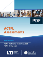 ACTFL Commercial Brochure