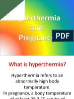 Hyperthermia and Pregnancy