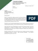 002 - Surat Pengenalan PT. Wilmar Nabati Gresik