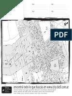 Mapa de City Bell
