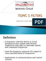 TOPIC 5filters