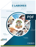 Informe Anual de Labores IGSS 2017