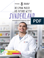Sunderland University Prospectus