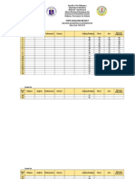 2nd Grading Item Analysis by SECTION