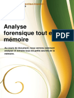 Analyse Forensique Tout en Memoire
